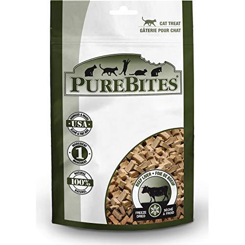 PureBites Beef Liver Freeze Dried Cat Treats (15 Pack)