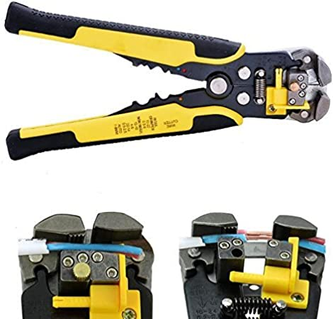 Heavy Duty Self Adjustable Automatic Cable Wire Stripper Cutter Pliers