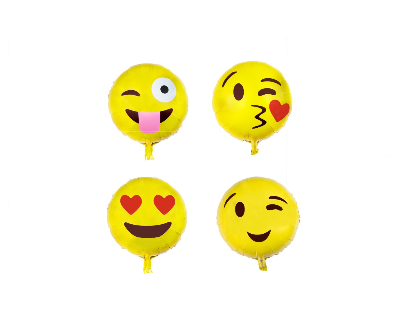 Emoji Balloon Happy Birthday Party