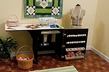 arrow cabinet sewnatra sewing cabinet black