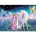 LovetheFamily 数字油絵 数字キット塗り絵 手塗り DIY絵 デジタル油絵 天使とユニコーン 40x50cm ホーム オフィス装飾の商品画像