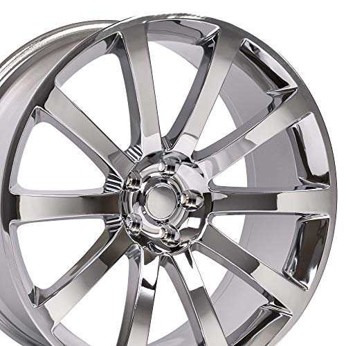 OE Wheels 20 Inch Fits Chrysler 300 Challenger SRT8 Charger SRT8 Magnum 300 SRT Style CL02 Chrome 20x9 Rim Hollander 2253