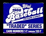 1988 Topps Traded Set Complete M (Mint)