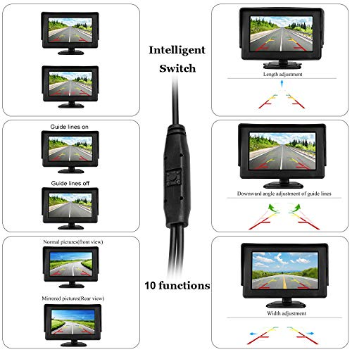 Digital Wireless Backup Camera Amp 4 3 Monitor Kit Rv Car
