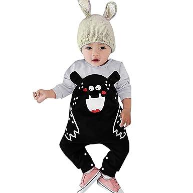 9a6fb7d03bad CATSAP Newborn Baby Cute Bear Onesie Infant Winter Jumpsuit Romper ...