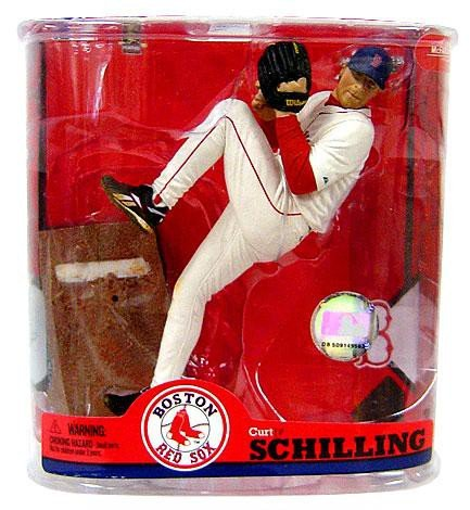 McFarlane Toys MLB Boston Red Sox Sports Picks Series 22 Curt Schilling Action Figure [Patch Variant]