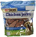 Top Chews Chicken Jerky Natural Dog Treats 3 lb