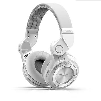 Auriculares con micrófono Bluetooth, auriculares inalámbricos plegables inalámbricos Bluetooth / auriculares estéreo con cable incorporado