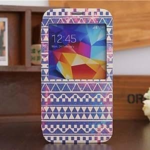Geometrías Hermosa modelo del caso del cuerpo completo para Samsung i9600 S5