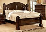 California King Size Bed Frame Dimensions 247SHOPATHOME IDF-7791CK Bed-Frames, California King, Cherry