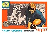 Red Grange football card (Illinois Fighting Illini Galloping Ghost) 2001 Topps Archives #89 All American