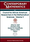 Council for African American Researchers in the Mathematical Sciences, , 0821844571