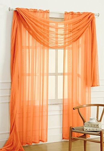 empire-home-solid-sheer-voile-scarf-valance-216-long-window-scarves-37-x-216-color-orange
