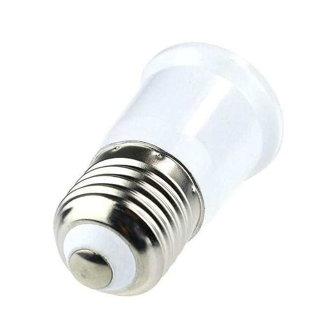 Amazon.com: 1 adaptador de bombilla LED E27 a E27 con base ...