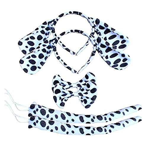 Kinzd Kids Cute Animals Mouse Dalmatian Tiger Party Halloween Costume (Cute Halloween Dress)