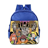 Toddler Kids Scooby Doo, Where Are You! School Backpack Cartoon Baby Children School Bags RoyalBlue