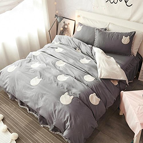 Embroidery Bedskirt - 3