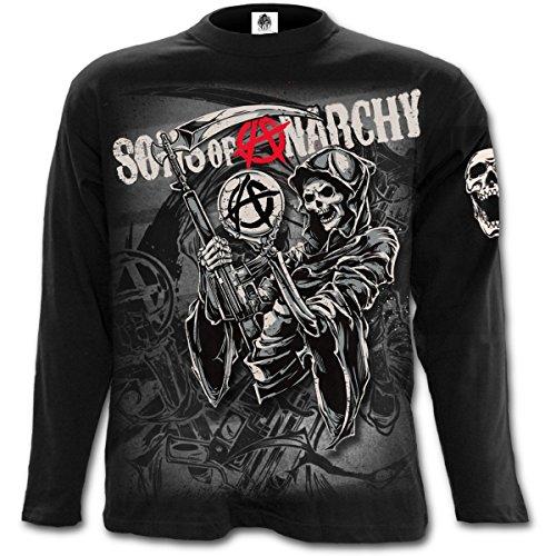 Sons of Anarchy Reaper Longsleeve Schwarz M