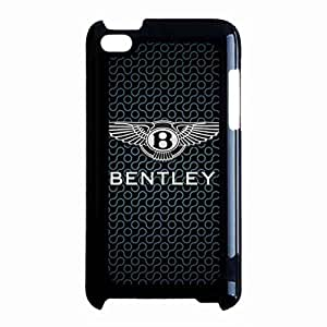 New Fashion Bentley Brand Logo Phone Custodia For iPod Touch 4th Plastic Phone Custodia