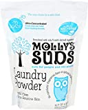 All Natural Laundry Detergent Molly's Suds All Natural Unscented Laundry Powder 70 Loads - Free of Harsh Chemicals, Gentle on Sensitive Skin and Eczema.