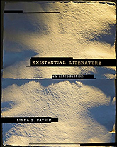 Existential Literature: An Introduction