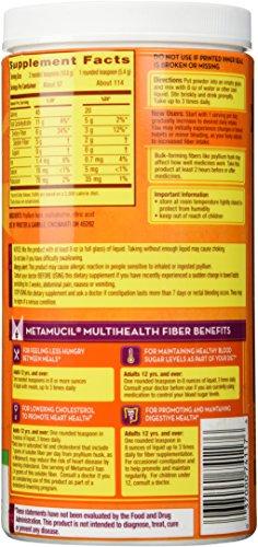 Metamucil Sugar Free Original Smooth Texture Powder – 114 Doses, 23.3ounces