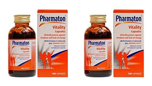 (2 PACK) - Pharmaton Pharmaton | 100s | 2 PACK - SUPER SAVER - SAVE MONEY