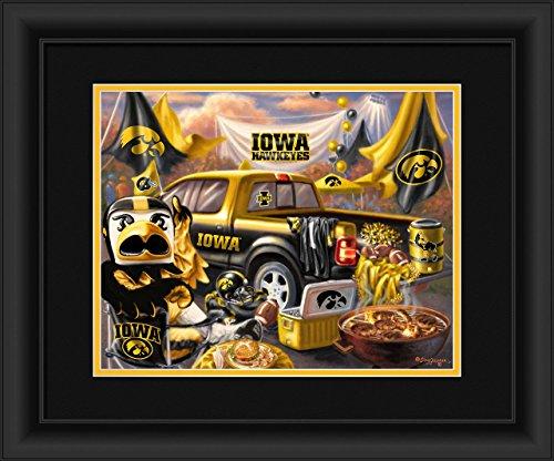 Iowa Hawkeyes Tailgate Print 15