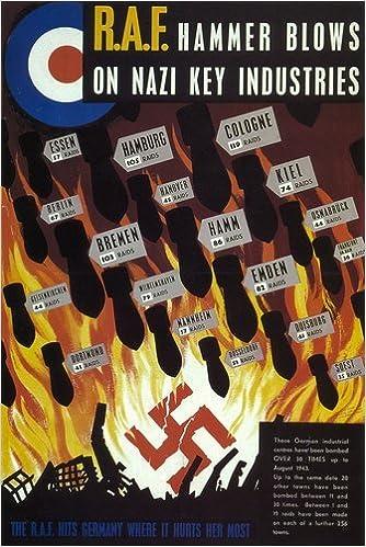 Vintage World War 2 RAF Bomber Command Poster A3 Reprint