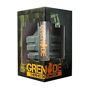 Grenade Fat Burner Supplement | Keto Friendly Green Tea Thermogenic | Energy Booster Weight Loss Pills | Thermo Detonator, 100 Capsules