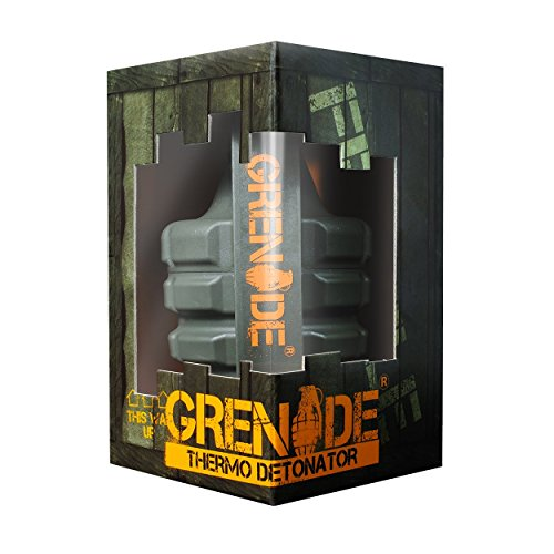 Grenade Thermo Detonator, Powerful Thermogenic Fat Burner and Award Winning Weight Loss Capsule, 100 Capsules by Grenade