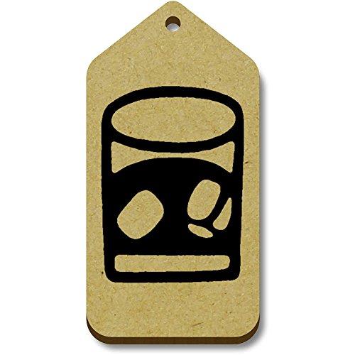 Geschenk 34mm 'Whisky' 66mm 10 Azeeda bagagelabels tg00066393 X wFaHX4Ixq