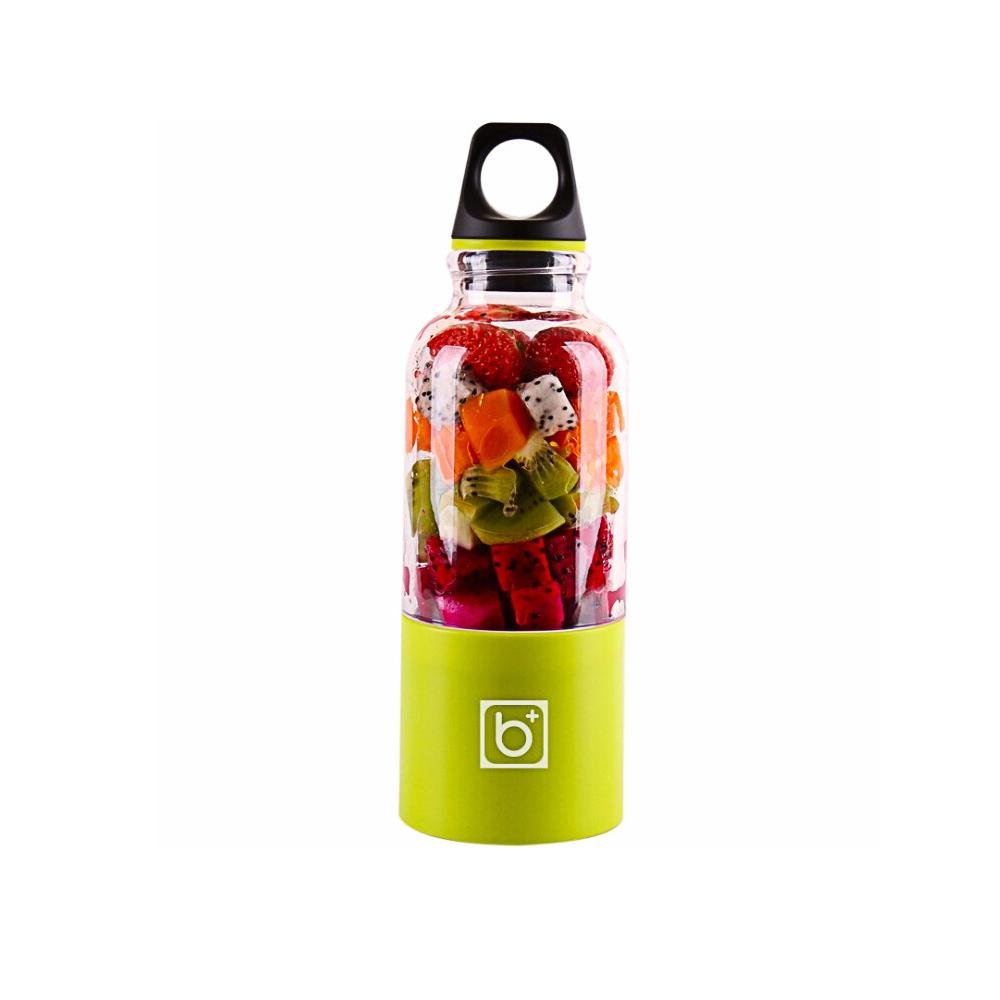 FOONEE Portable Juicer Cup,USB Rechargeable Personal Blender, Juice Mixer, Personal Smoothie Maker With 2600mAh Fruit and Vegetable Mixing Machine with Upgraded Motor and 500ML Large Capacity