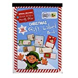 Christmas Gift Label Book - 120 Peel Off Labels - Gold and Silver Foiled Labels Included - by Grafix
