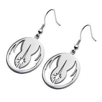 Amazon Com Star Wars Jewelry Jedi Order Stainless Steel Dangle Hook