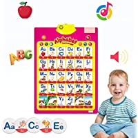 MEckily Talking Electronic Alphabet Poster and Enlightenment FlashCards