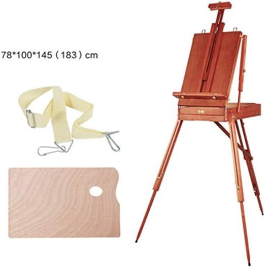 Zhengowen Caballete Pintura al óleo de la Herramienta portátil Que ...