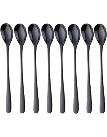 25 cm Length Pack of 12 Piazza 475725 Steel Mixing Spoon