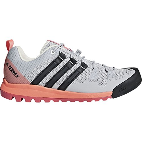 Adidas Sport Performance Women's Terrex Solo W Sneakers, Grey, 7 M by adidas