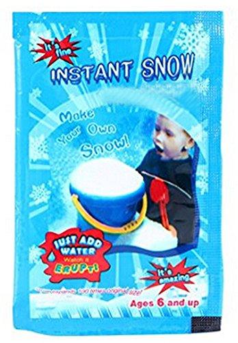 Instant Snow to Go Artificial Snow Powder Fake Snow for Christmas Craft Kids (1pcs, Pack)
