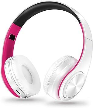 NOCTIC Auriculares Bluetooth Oreja, Auriculares inalámbricos Plegables y Auriculares con Cable Orejeras Suaves y Ligeros para iPhone/Samsung/PC/TV/Travel-5: Amazon.es: Electrónica