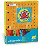 MoMA Modern Shapes Lacing Cards: 10 Cards & Laces (MoMA Modern Kids)