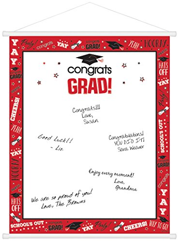 Graduation Sign-In Scroll 23