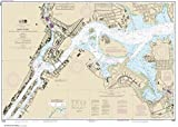 NOAA Chart 12339: East River Tallman Island to Queensboro Bridge 32.2 x 45.4 (TRADITIONAL PAPER)