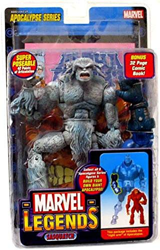 Marvel Legends Series 12 Action Figure Sasquatch White Variant