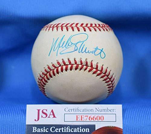 MIKE SCHMIDT JSA Coa Autograph National League ONL Hand Signed BasebaLL