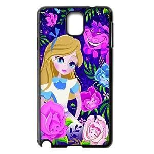 Yo-Lin case IKAI0446697Alice in Wonderland For Samsung Galaxy NOTE3 Case Cover