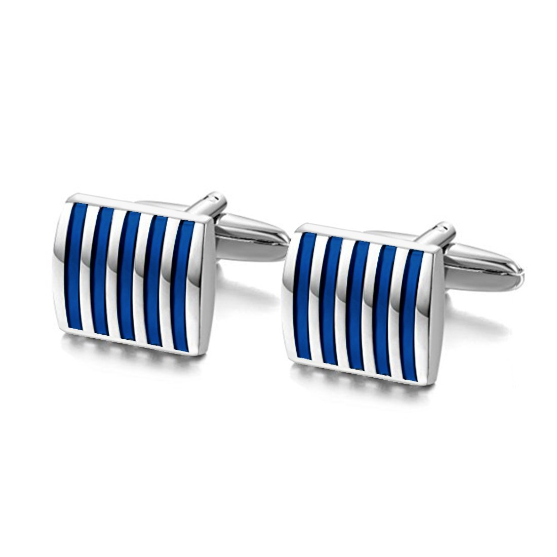 Peora Unique Shirt Cufflinks for Men Business Co-Operate Wedding Gift