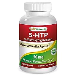 Best Naturals 5-HTP 50 mg 120 Capsules