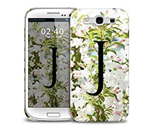 letter j Samsung Galaxy S3 GS3 protective phone case